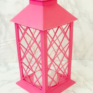 Blush Pink Twinkle Light Lantern